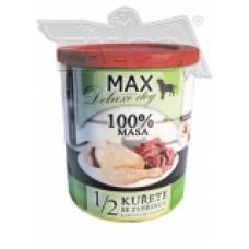 Max deluxe 1/2 kuřete se zvěřinou 800 g různá balení