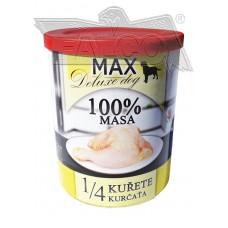 Max deluxe 1/4 kuřete 800 g různá balení