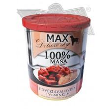 Max deluxe kostky libové hovězí svaloviny s vemínkem 800 g různá balení expirace 10.12.19