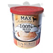 Max deluxe 1/2 kuřete s vemínkem 800 g různá balení