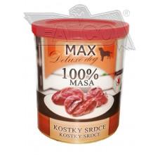 Max deluxe kostky srdce 800 g