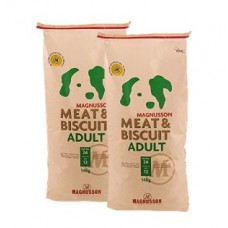 2 x Magnusson Meat & Biscuit Adult 14 kg