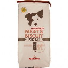 Magnusson Meat & Biscuit Grain Free 14 kg + doprava ZDARMA
