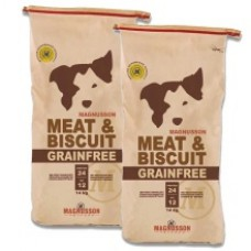 2 x Magnusson Meat & Biscuit Grain free 14 kg