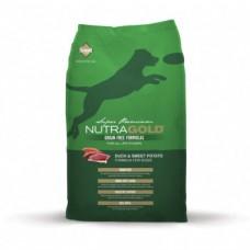 Nutragold Duck&Sweet Potato grain free 13,6 kg + DOPRAVA ZDARMA