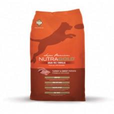 Nutragold Turkey&Sweet Potato grain free 13,6 kg + DOPRAVA ZDARMA