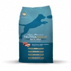 Nutragold Whitefish&Sweet Potato grain free 13,6 kg + DOPRAVA ZDARMA