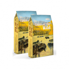 2 x Taste of the Wild High Prairie 13 kg + doprava ZDARMA