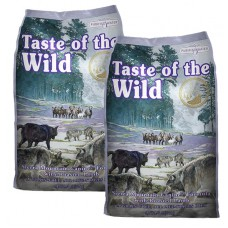 2 x Taste of the Wild Sierra Mountain Canine 13 kg + DOPRAVA ZDARMA