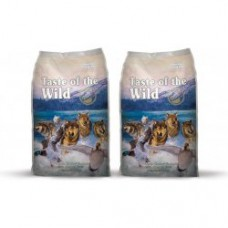 2 x Taste of the Wild Wetlands Wild Fowl 13 kg + doprava ZDARMA